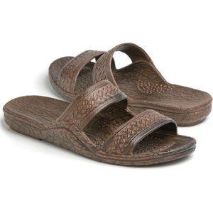 Pali Hawaii Sandals - Dark Brown